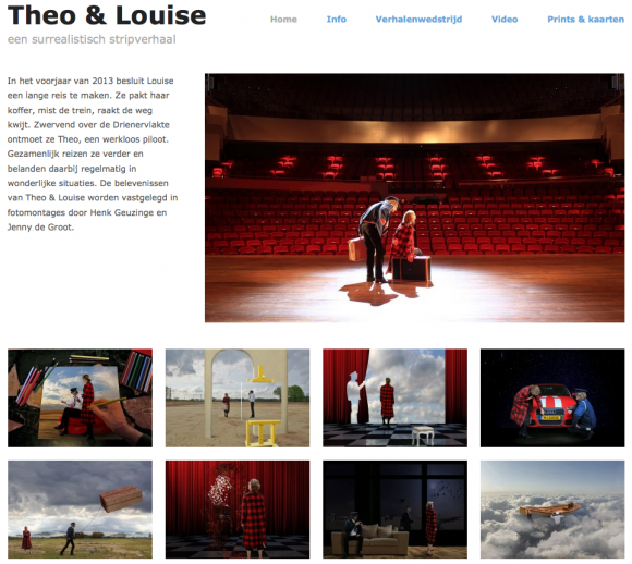 theo en louise, de website